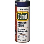 Comet Scour Power Deodorizing Cleanser w/Bleach, 21 oz