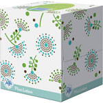 "Puffs Plus Lotion Facial Tissue, White, 1-Ply, 8 1/5"" x 8 2/5"", 56/Box"