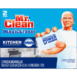 Mr. Clean® Magic Eraser Kitchen Scrubber, Unscented, 2 Pads/Box