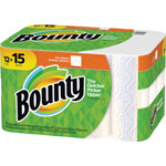 Bounty Paper Towels, 2-Ply, Full-Sheet, 12/CT, White