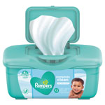 Pampers® Complete Clean Baby Wipes, 1 Ply, Baby Fresh, 72 Wipes/Tub, 8 Tubs/Carton