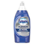Dawn Ultra Platinum Dishwashing Liquid, 34.6 oz Squeeze Bottle, 8/Carton