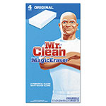 "Mr. Clean Magic Eraser All Purpose Scrubber, 2 2/5"" x 4 3/5"", 1"" Thick, White, 24/CT"
