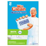 "Mr. Clean Magic Eraser Bathroom Scrubber, 4 1/2"" x 3 1/5"", 2/Box, 16 Boxes/Carton"