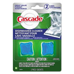 Cascade Dishwasher Cleaner, Fresh, 2/pack, 14 Pack/carton