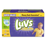 Luvs Diapers w/Leakguard, Size 5: 27 to 35 lbs, 88/Carton