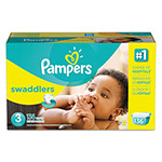Pampers® Swaddlers Diapers, Size 3: 16 - 28 lbs, 136/Carton