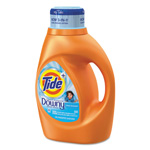 Tide Touch of Downy Liquid Laundry Detergent, Clean Breeze Scent, 46 oz. Bottle