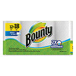 Bounty Select-a-Size Perforated Roll Towels, 2-Ply, White, 105/Roll