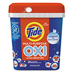 Tide Oxi Multi-Purpose Stain Remover, Powder, Fresh Scent, 7.12lb Tub, 4/Carton