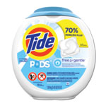 Tide Free & Gentle Laundry Detergent, Pods, 72/Pack