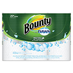 Bounty Paper Towels with Dawn, 2-Ply, 11 x 14, 49/Roll, 3/Pack