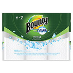 Bounty Paper Towels with Dawn, 2-Ply, 11 x 14, 49/Roll, 6/Pack