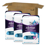 Always® Discreet Sensitive Bladder Protection Pads, Maximum, Extra Long, 39/Pk