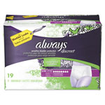 Always® Discreet Incontinence Underwear, Small/Medium, Maximum Absorbency,19/Pk,3Pk/Ctn