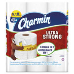 Charmin Ultra Strong Bathroom Tissue, 2-Ply, 4x3.92, 308/Roll, 12 Roll/Pack, 4Pk/Crtn