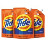 Tide Liquid Laundry Detergent, Original Scent, 48 oz Pouch, 3/Carton