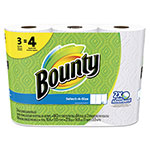 Bounty Select-a-Size Perforated Roll Towels, 11 x 5.9, White, 84 Sheets/Roll, 3/Pack