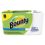Bounty Select-a-Size Perforated Roll Towels, 11 x 5.9, White, 63 Sheets/Roll, 8/Pack