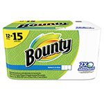 Bounty Select-a-Size Perforated Roll Towels, 2-Ply, White, 6 x 11, 79/Roll, 12Rl/Pk