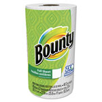 Bounty Perforated Towel Rolls, 2-Ply, White, 11 x 10 1/5, 40 Sheets/Roll