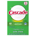 Cascade Automatic Dishwasher Powder, Fresh Scent, 60 oz Box, 6/Carton