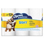 Charmin Essentials Soft Bathroom Tissue, 2-Ply, 4 x 3.92, 200/Roll, 6 Roll/Pk, 8 Pk/Ctn