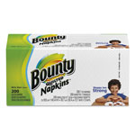 Bounty Quilted Napkins, 1-Ply, 12 1/10 x 12, White, 200/Pack, 8 Pack/Carton
