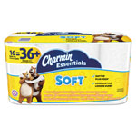 Charmin Essentials Soft Bathroom Tissue, 2-Ply, 4 x 3.92, 200/Roll, 16 Roll/Pack