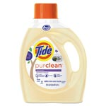 Tide PurClean Liquid Laundry Detergent, Honey Lavender, 75 oz Bottle, 4/Carton