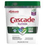 Cascade ActionPacs, Fresh Scent, 34.5 oz, 62/Bag, 3 Bags/Carton