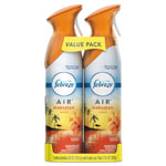 Febreze AIR Hawaiian Aloha, 8.8 oz Aerosol, 2/Pack