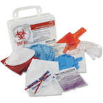 ProGuard Bloodborne Pathogen Kit, White/Red