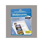 "Hammermill Multipurpose Paper, 8 1/2""x11"", 92 Bright, White, 20 LB, One Ream"