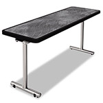 Nomad aero Mobile Folding Table, 60 x 24 x 29, Pewter