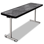 Nomad aero Mobile Folding Table, 72 x 24 x 29, Pewter