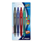 Pilot G6 Fine Point Retractable Gel Pen, Assorted