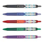 Pilot Precise V5RT Retractable Roller Ball Pen, Precision Point, Assorted, .5mm, 5/Set