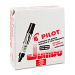 Pilot Jumbo Refillable Permanent Marker, Chisel Point, Red