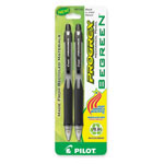 Pilot Mechanical Pencil, Rubber Grip, Refillable, .7mm, 2/PK, Black