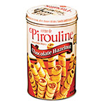 Five Star Distributors Chocolate Hazelnut Pirouline Rolled Wafers, 14 oz