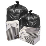 Penny Lane Black Star Low-Density Can Liners, 40-45gal, 0.5 Mil, 40 X 46, Black, 250/ct