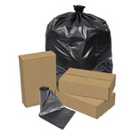 Pitt Plastics Linear Low Density Repro Can Liners, 55gal, 1.2 Mil, 41 X 54, Black, 100/ct