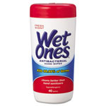 Wet Ones® Antibacterial Moist Towelettes
