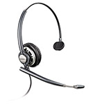 Plantronics Pro Monaural Over-the-Head Headset w/Noise Canceling Microphone