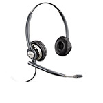 Plantronics Pro Binaural Over-the-Head Headset w/Noise Canceling Microphone