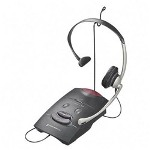 Plantronics S11 Over the Head Headset & Universal Amplifier Telephone System