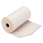 "PM Company White Single Copy Teleprinter Roll, 8 7/16"" x 235'"
