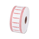 PM Company Automatic Coin Flat Wrapper Roll for 40 Quarters, Orange, 1900 Wrappers/Roll