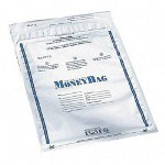 "PM Company Disposable Deposit Bag, Plastic, 9""x12"", 100/Pack, Opaque"